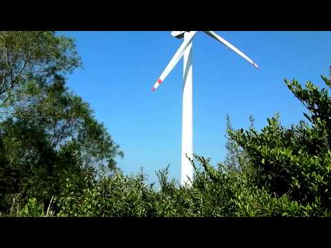 Wind turbine (WEA) Nordex N50/800kW owned by Hongkong Electric.