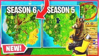 FORTNITE SAISON 6 CARTE FUITE!? (Fortnite Battle Royale Saison 6) - NOUVEAU SEASON 6 SKINS - THEME LEAKS!