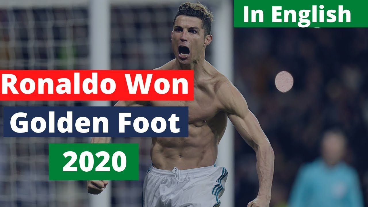 Christiano Ronaldo Won Golden Foot Award For 2020   Football News   TUS #Shorts