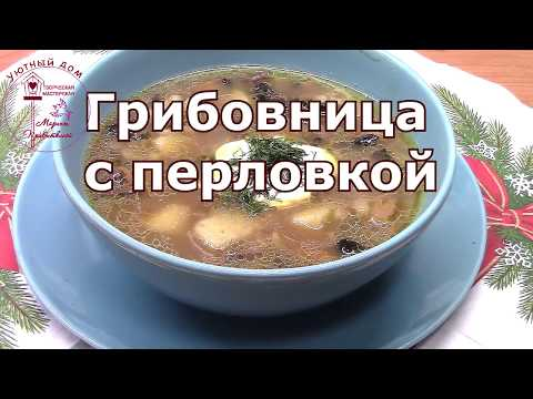 Грибовница. Грибной суп