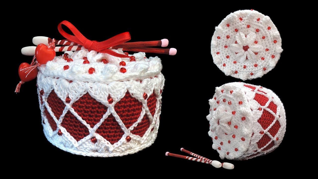 Trommel Törtchen Häkeln Drum Cake Crochet Youtube
