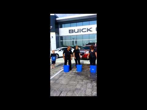 ALS Ice Bucket Challenge Aug 19 2014 at MacMaster Chevrolet Ltd