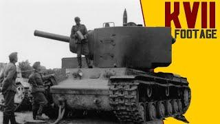 Rare KV-2 WW2 Footage - КВ-2 серийный - Танк, танк клим ворошилов 2.