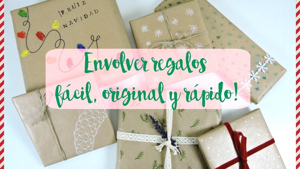 Como envolver regalos r pido facil y original diy - Regalos faciles y rapidos ...