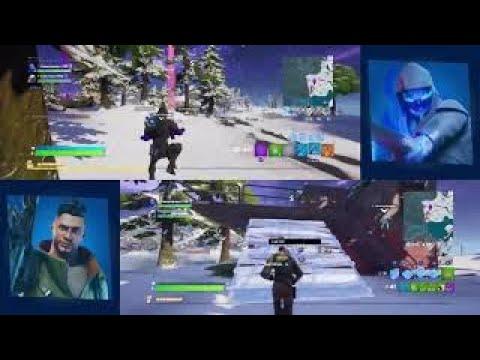 Fortnite split screen gameplay on xbox one s - YouTube