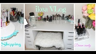 Shopping For Vanity Desk At Ikea : Vlog