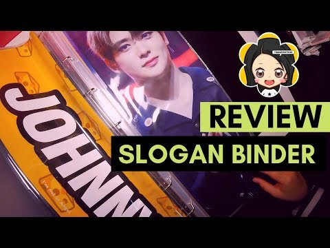 Happyhearts Review - Fansite Slogan Binder (How I organize