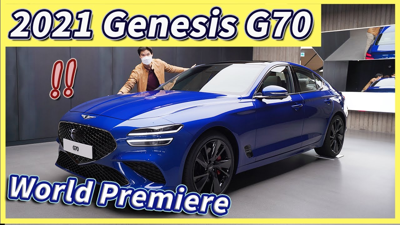 [World Premiere] The NEW Genesis G70 is HERE! The Genesis G70 is back. The Boldest Genesis EVER?