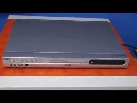 Reproductor de DVD Grabador LG DR7400