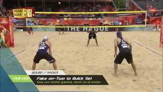 Hyden / Bourne Put on a Clinic at the 2015 FIVB World Championships