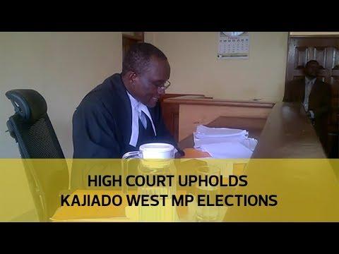 High court upholds Kajiado west MP elections