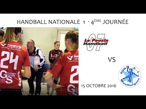 Handball N1 4e journée LE POUZIN vs BOUILLARGUES 15 10 2016