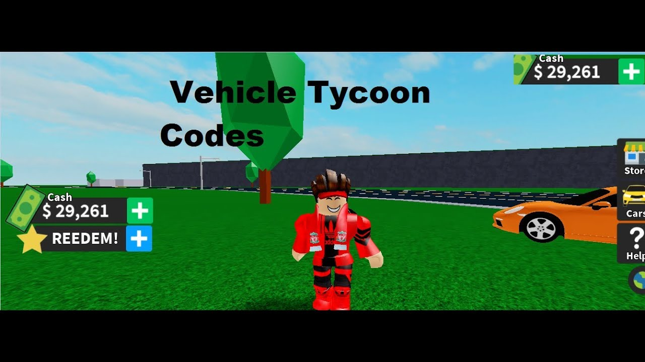 Vehicle Tycoon Codes – Roblox (September 2019) –