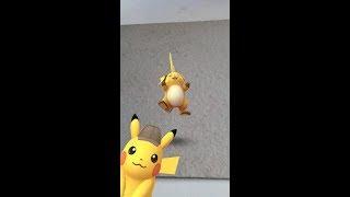 Pokémon Go #11 - Foto con Pikachu sombrero detective hasta el 17 de mayo de 2019
