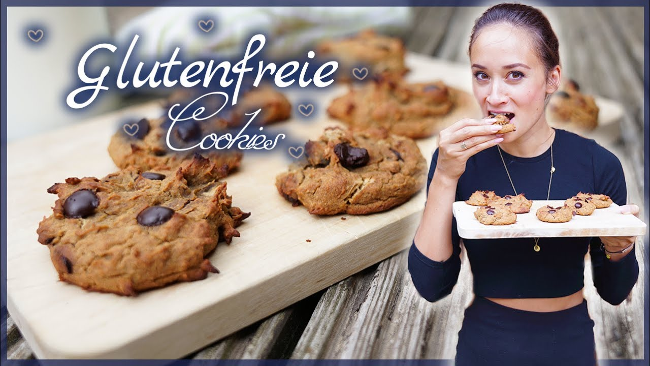 cookies backen schoko kekse selber machen glutenfrei vegan sch n knautschig youtube. Black Bedroom Furniture Sets. Home Design Ideas