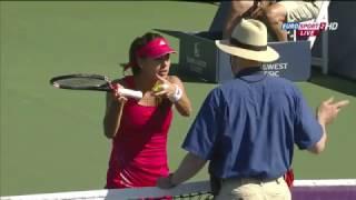 Tennis players vs Umpires - Sorana Cirstea