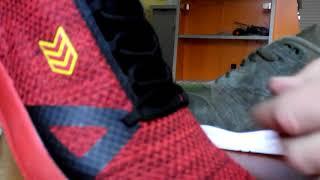 Видеообзор кроссовок Razor красного цвета