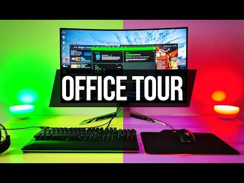 ¡Mi SETUP de Gaming y Youtube! - Office Tour 2018