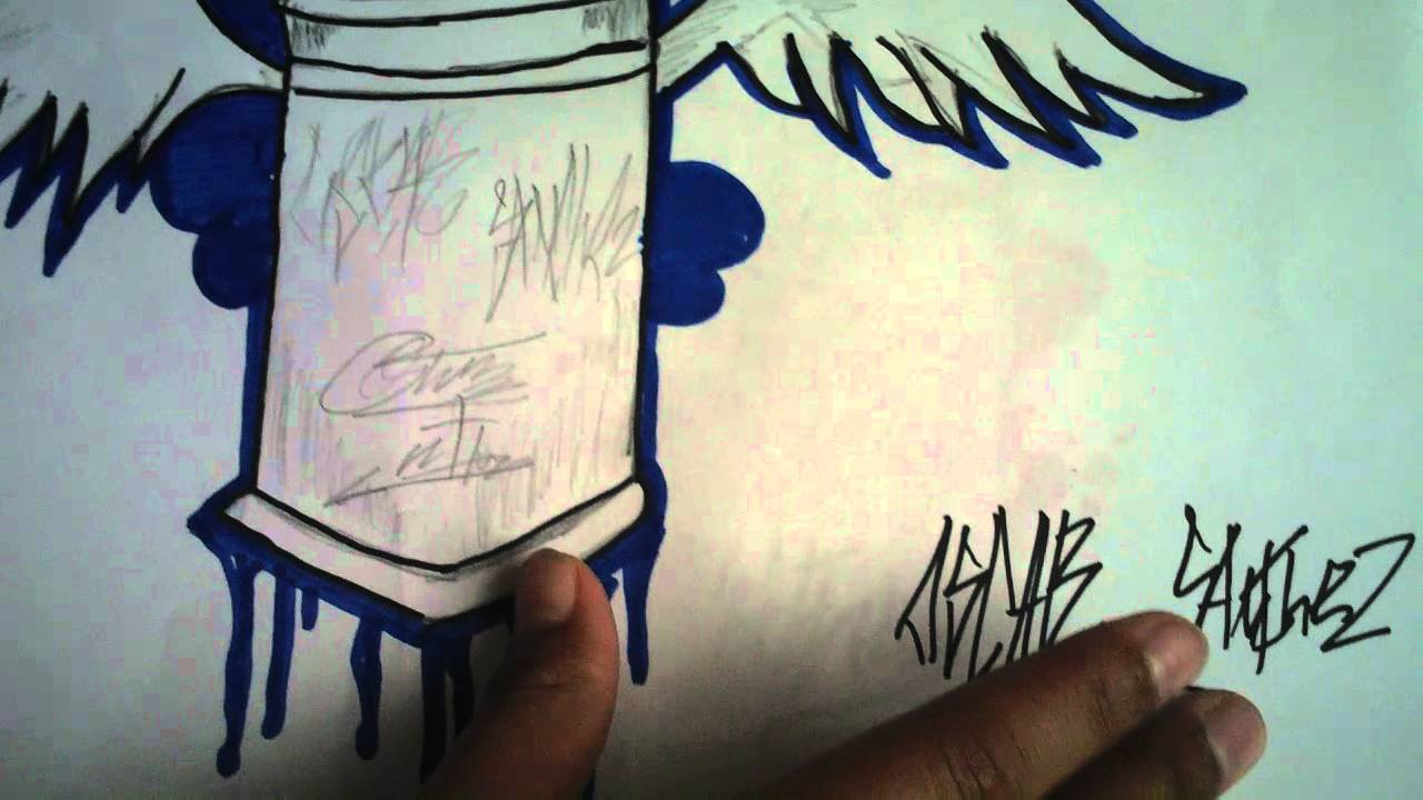 graffitis en papel