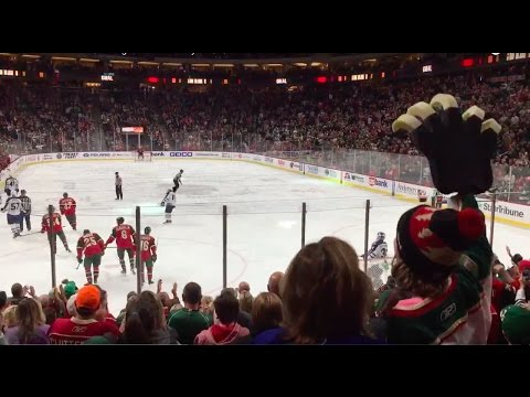 "Minnesota Wild Goal Song ""Lets Go Crazy"" 10/8/16"