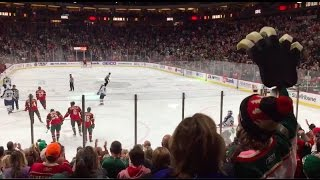Minnesota Wild Goal Song Lets Go Crazy 10 8 16