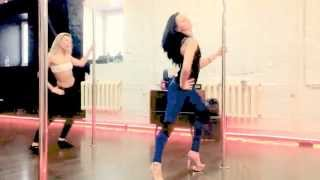 Masha Lu - Exotic Pole Dance в Studio Feelings #exoticpoledance #poledance