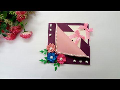 Handmade Beautiful Diwali Pop Up Card Idea/Handmade Diwali Gift Idea/Ruks Art N Craft