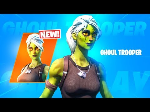 The New GHOUL TROOPER V2 Skin..