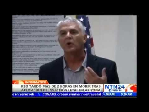 Polémica por ejecución de reo en cárcel de Arizona que duró casi dos horas