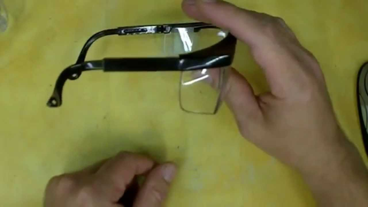 Harbor Freight Safety Glasses Review Item 94357 Youtube