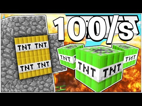 TNT WARS REMASTERED - THE BEST TNT WARS GAMEMODE EVER *MUST SEE* - Modded Minecraft Minigame