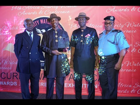 HSDickson   Gov  Dickson recieves Multiple security Awards from Security Watch Africa, Accra, Ghana,