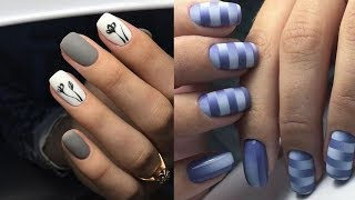 New Nail Art Designs Thin lines✔The Best Nail Art Tutorial Compilation #4