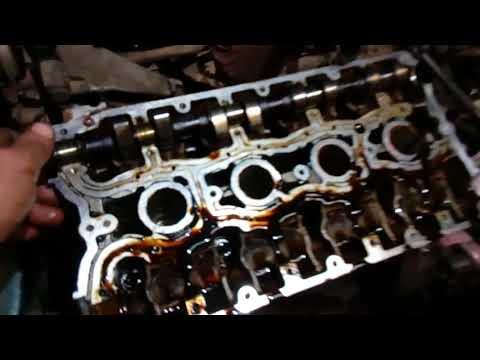 двигатель ВАЗ 21124 снимаю ГБЦ, а там.....