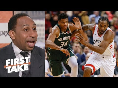 Raptors are the best team in the East, built to stop the Greek Freak  - Stephen A.   First Take