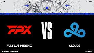 FPX vs. C9   Woŗlds Group Stage Day 4   FunPlus Phoenix vs. Cloud9 (2021)