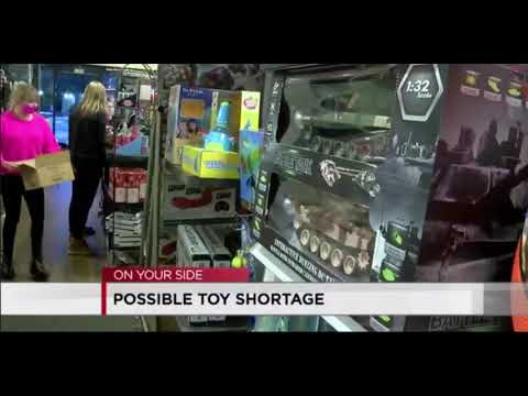 Toy Shortage Will Leave Shelves Empty At Retail Stores