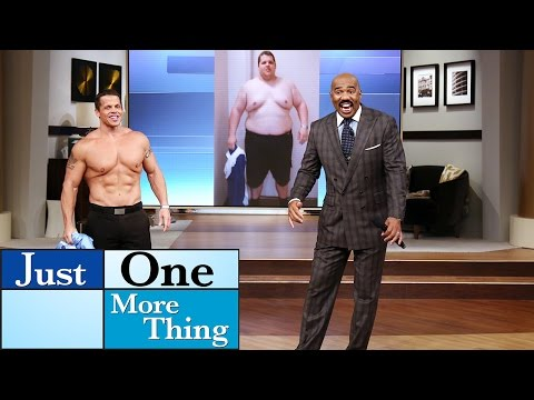 Amazing 200lb weight loss story! || STEVE HARVEY