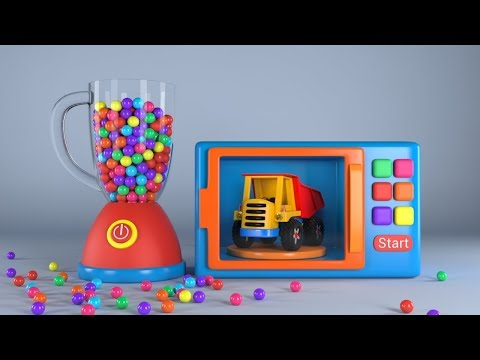 appMInk Fire Truck | Police Car | Helicopter | Monster Truck Racing | Learning video for kids