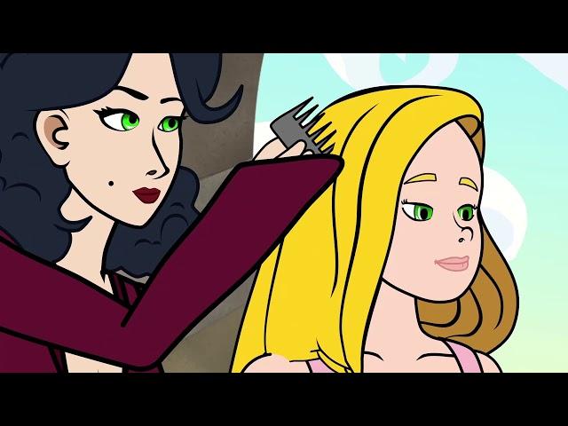 Raiponce (nouvelle version)   dessin animé en français   Conte pour enfants avec les P\'tits Z\'amis