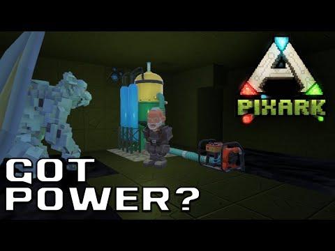 Power Generation! | PixArk Let's Play Episode #16