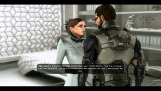 Gameplay of the last mission of Deus Ex Human Revolution for the PC with the final boss battle against Zhao Yun Ru and all the four endings  David Sarifs  Bill