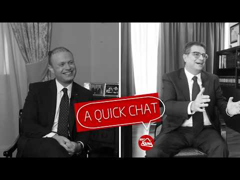 A Quick Chat with Joseph Muscat & Adrian Delia