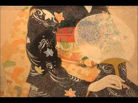 TazukoTOGAWA Japanese painting exhibition.wmv