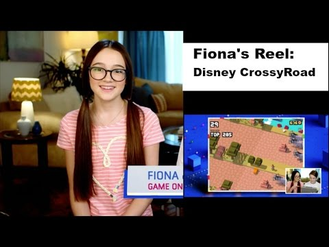 Fiona's Reel: Disney's GameOn CrossyRoad