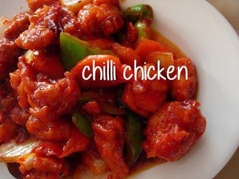 Easy Chilli Chicken Recipe Best Chicken Chili Recipe By Chef