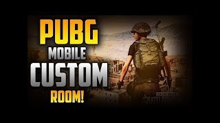 PUBG MOBILE GIVEAWAY|CUSTOM ROOM FULL DAY