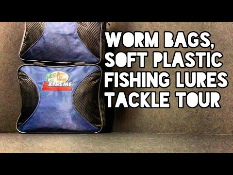 Worm Bags, Soft Plastic Fishing Lures Tackle Tour