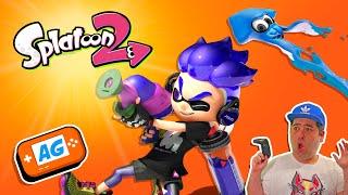 SPLATOON 2 Jugando con Japoneses PRO a Splatoon Online   Abrelo Game Gameplay en Español