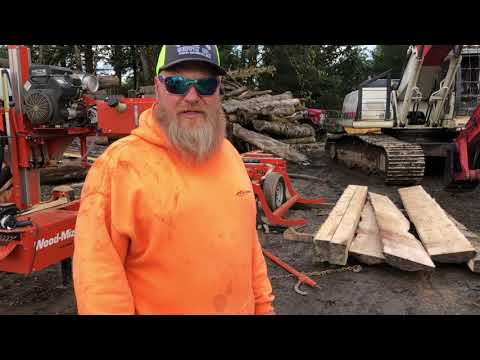 Milling Douglas Fir Timber Framing Lumber
